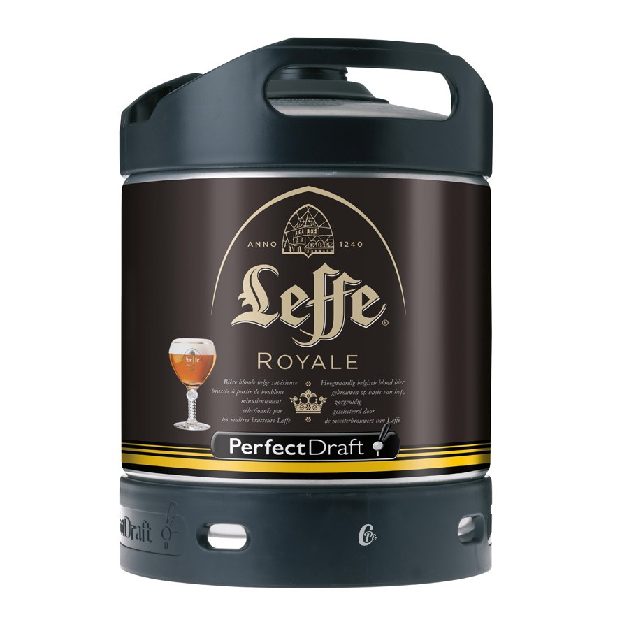 leffe royal fut perfectdraft biere 6 litres abbaye leffe. Black Bedroom Furniture Sets. Home Design Ideas