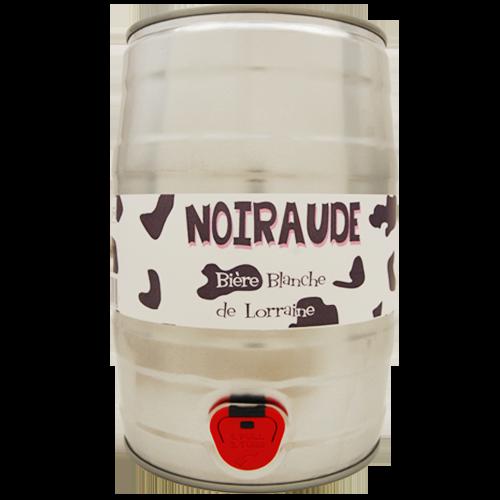 Fut de bière Noiraude Blanche