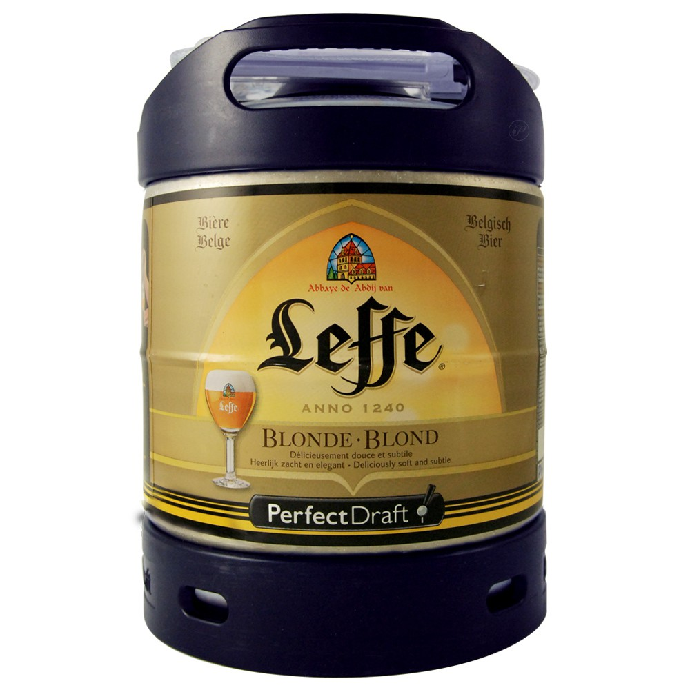 perfectdraft fut de biere 6 litres abbaye leffe. Black Bedroom Furniture Sets. Home Design Ideas