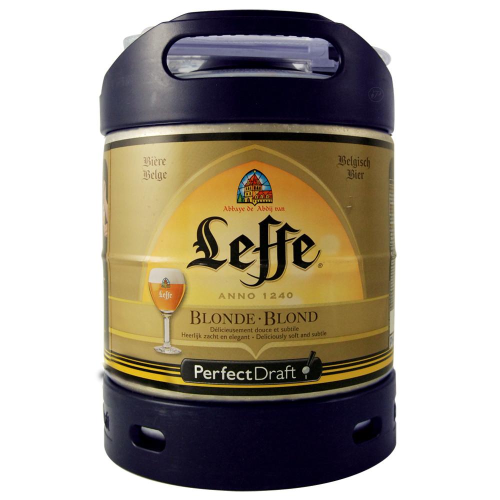 Bière Leffe (6° - Futs PerfectDraft - 6 Litres)