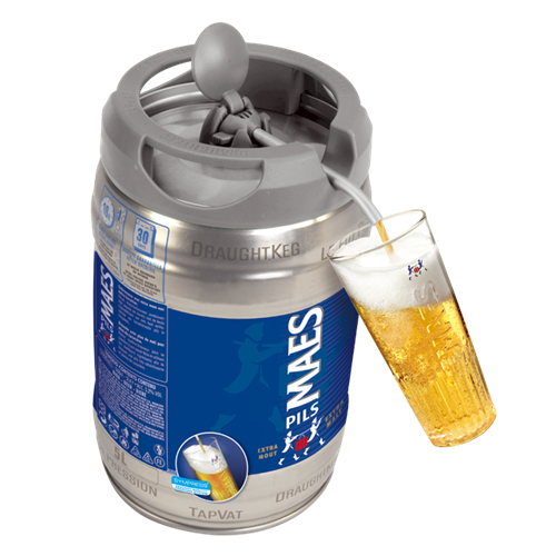 Fut beertender Maes Pils