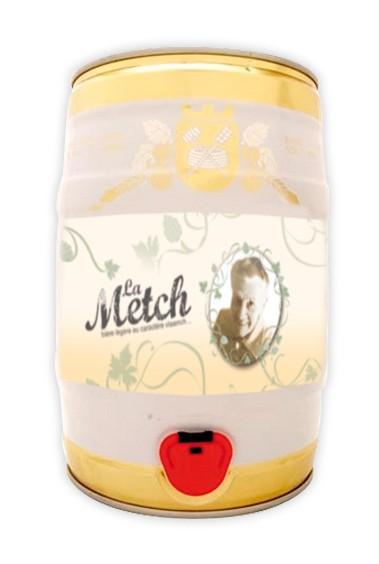 Fut de bière Metch Blonde des Flandres