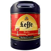Fût Leffe Ruby (6° - Futs PerfectDraft - 6 Litres)