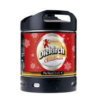 Fut Perfectdraft Diekirch Noel (Bière de noël Ambrée)
